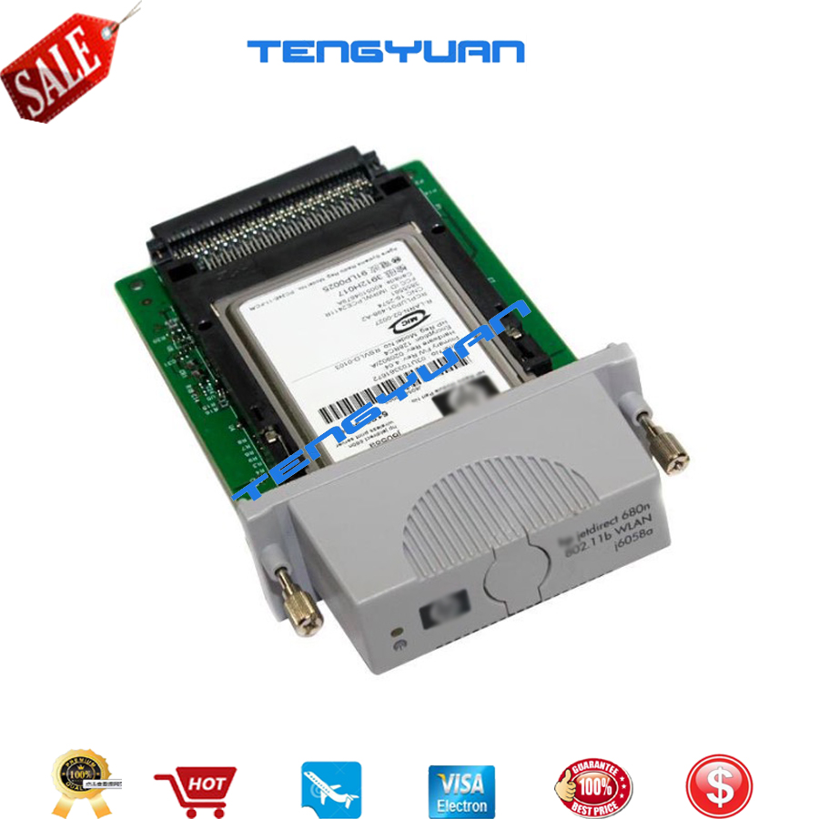 Used 90% new original FOR HP jetdirect 680n WLAN card j6058A j6058-60002 printer parts on sale tmnt 12 90545