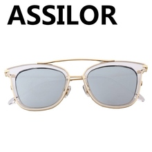 Assilor HD Polarized 2018 New Design with Bridge of the glasses Hot Sale Multicolor UV400 Ultraviolet Fashion Women Sunglasses