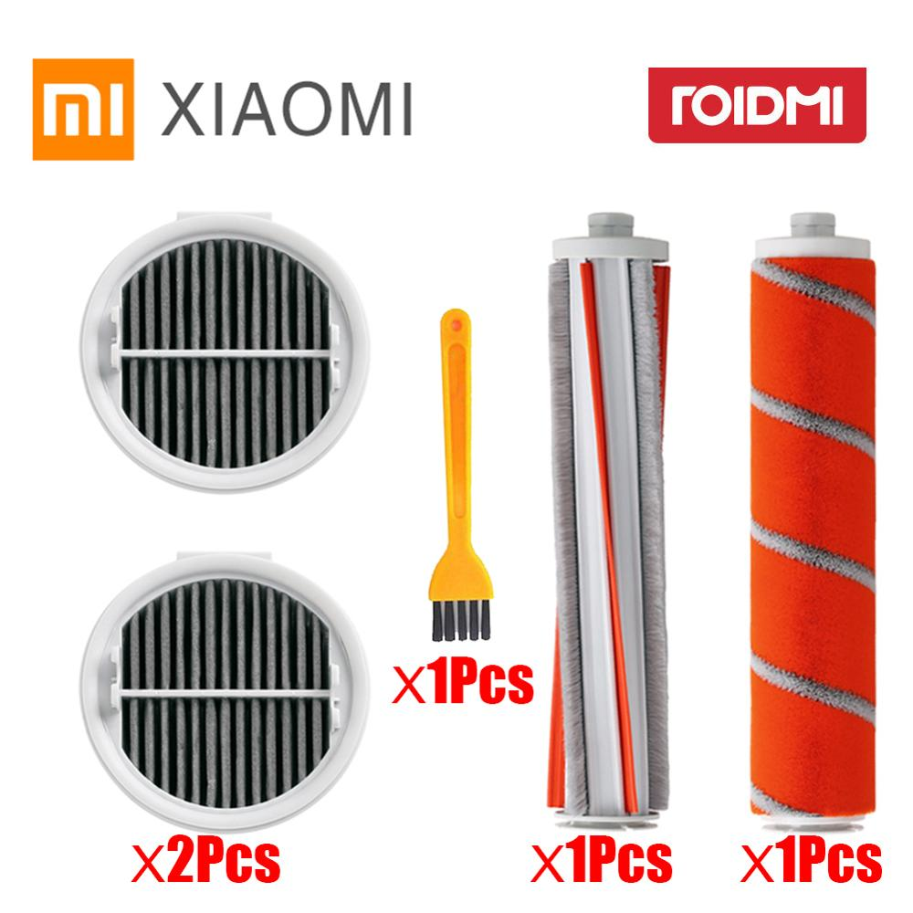 Washable Vacuum Cleaner Filters Hepa Roll Brush For Xiaomi Roidmi Wireless F8 Smart Handheld Vacuum Cleaner Accessories Parts