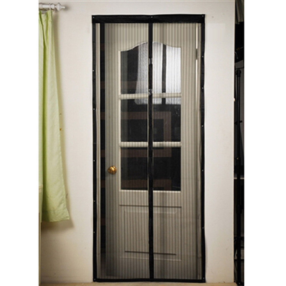 Aliexpress Buy Magnetic Door Mesh Screen Door Anti Mosquito
