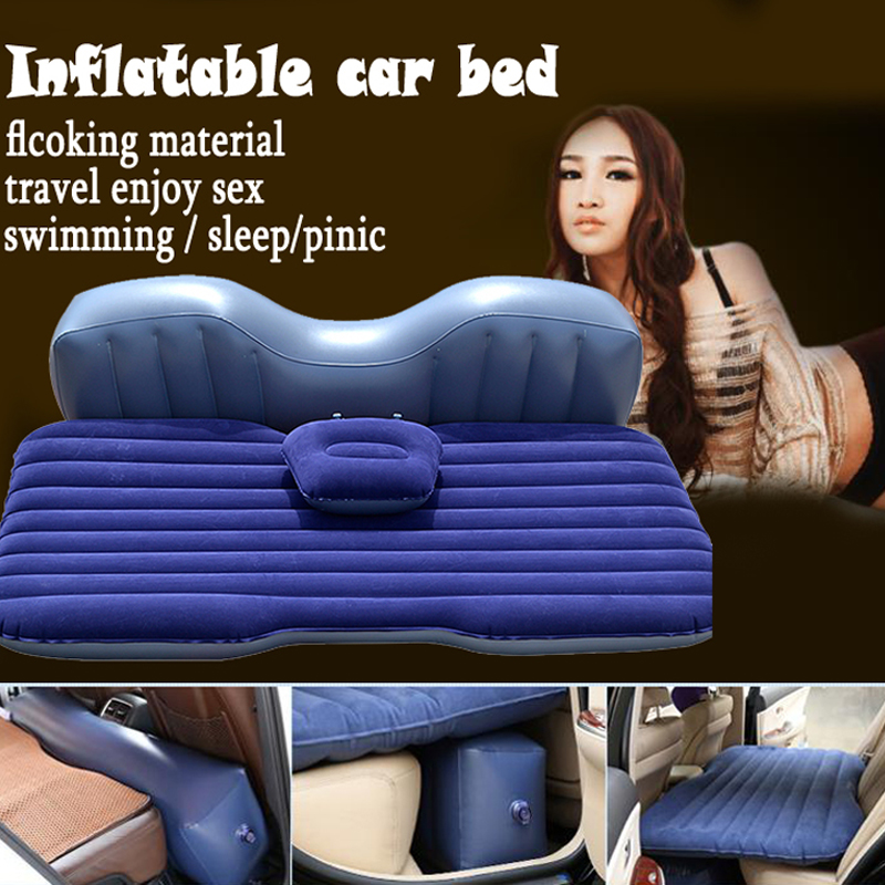 FUWAYDA 12v pumb Offroad Travel Inflatable car bed Inflatable seat outdoor sofa thicken outdoor mattress car mattress travel betos car air mattress travel bed auto back seat cover inflatable mattress air bed good quality inflatable car bed for camping
