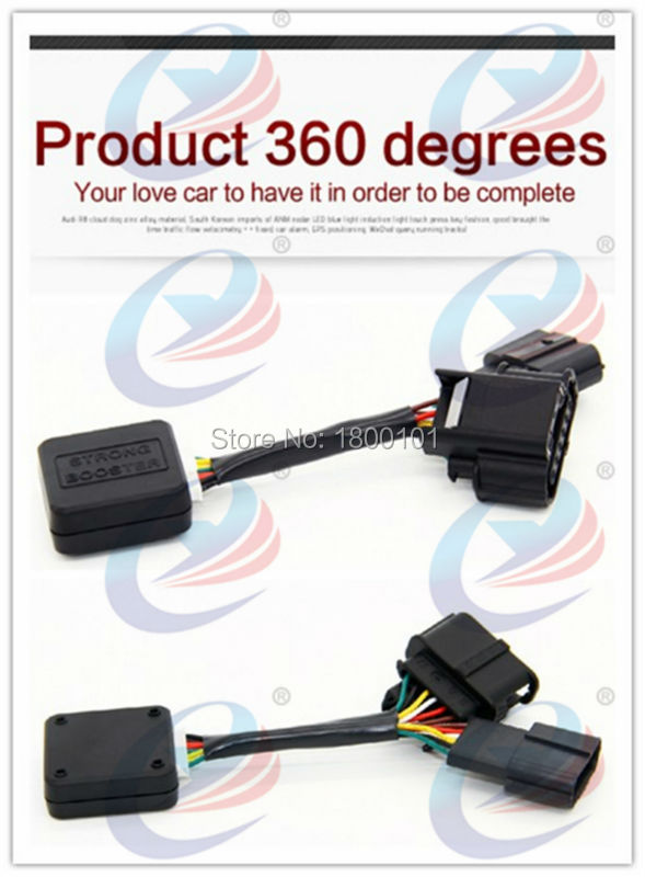 Sprint Strong FootPedal Booster Throttle ECU Controller for Luxgen Luxury 7 MG5 Changan CS35 font b