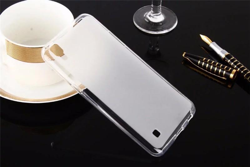 Dla LG X Przypadku Zasilania 5.3 cal Matte TPU Back Cover Case dla LG X Power K210 K220 K220ds Case Miękkie Silikonowe Ochronna Futerał na Telefon torba 9