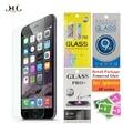Paquete al por menor para iphone 6 6 s 7 plus protector de pantalla de cristal templado película de vidrio para el iphone 5s 5 se + exquisito regalo caja al por menor