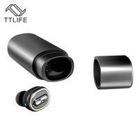 TTLIFE N1 Mini Ipx7 Waterproof Bluetooth Earphone Wireless V4 1 Super Bass Noise Cancelling Headphone With