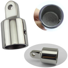 Stainless Steel Fitting Hardware for Marine Boat Yacht Bimini Top 22mm/25mm Silver Eye End Cap