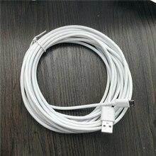5 м/20 см Белый Micro USB кабель для передачи данных зарядное устройство зарядный кабель V8 для телефонов samsung