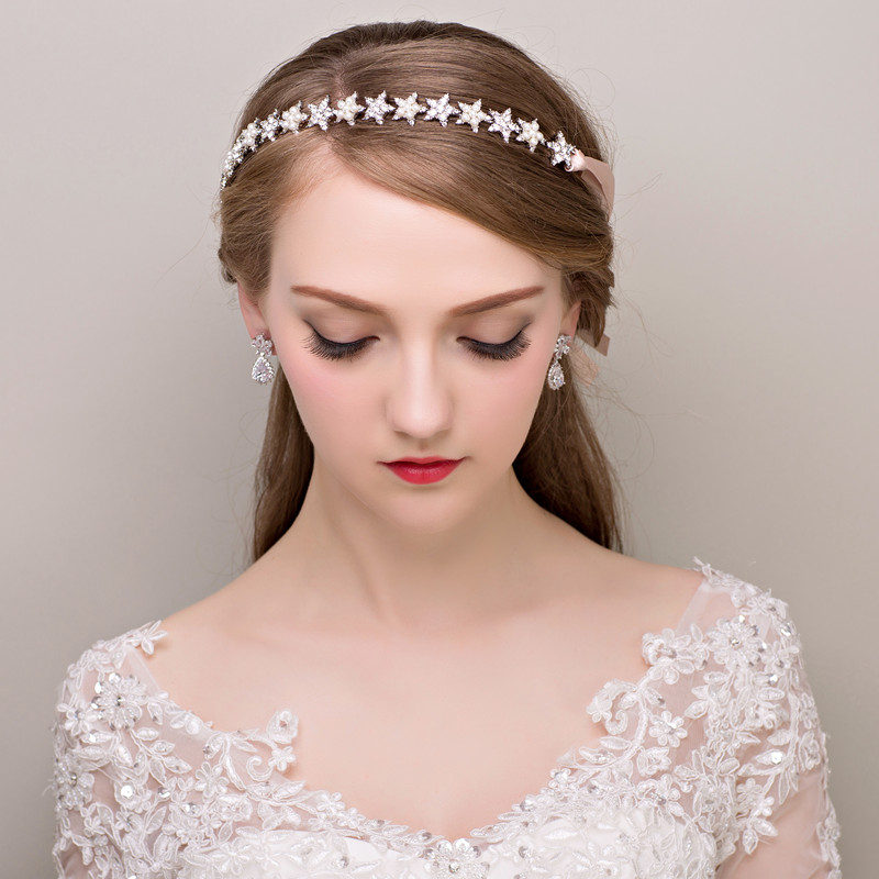 Pleasant Popular Bride Flower Crown Buy Cheap Bride Flower Crown Lots From Short Hairstyles For Black Women Fulllsitofus