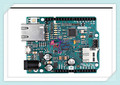 Italian original Leonardo ETH Controller Board for Arduino without PoE version, 7~12V ATmega32u4 W5500 TCP/IP Embedded Ethernet