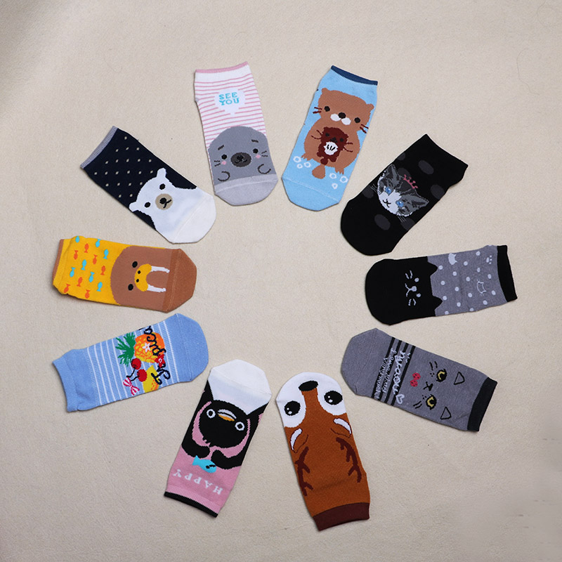 socken damen Ladies Girls mens combed cotton long   socks   men   socks   set colorful funny happy fun   socks