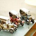 Vintage Decor Miniatur Metall Handwerk Retro Auto Modell Zu Hause Büro Desktop Dekoration Fotografie Requisiten Weihnachten Neue Jahr Handwerk