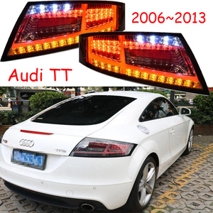Image 1 - ชุด 2 pcs รถจัดแต่งทรงผมสำหรับ 2006 ~ 2013 ปี TT ไฟท้ายไฟท้าย LED TT ไฟท้ายด้านหลัง DRL + เปิด + เบรคย้อนกลับ