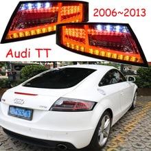 مجموعة واحدة 2 pcs سيارة التصميم ل 2006 ~ 2013 سنة TT المصابيح الخلفية أضواء خلفية LED TT الذيل مصباح لمبة خلفية DRL + بدوره + الفرامل + عكس