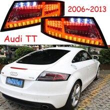Jeden zestaw 2 sztuk samochodów stylizacji dla 2006 ~ 2013 roku TT tylne światła światła tylne LED TT lampa tylna tylna lampa DRL + włącz + hamulec + bieg wsteczny