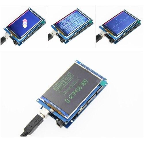 3.5 inch TFT LCD screen module Ultra HD 320X480 MEGA 2560 R3 Board3.5 inch TFT LCD screen module Ultra HD 320X480 MEGA 2560 R3 Board