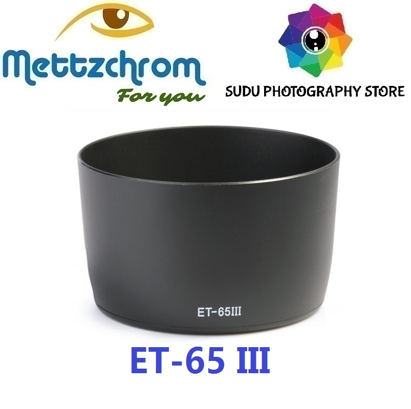 ET-65 III Lens Hood For Canon EF 85mm F/1.8 USM, 100mm F/2, SF EF 135mm F/2.8 LENS HOOD ET65 III ET 65 III