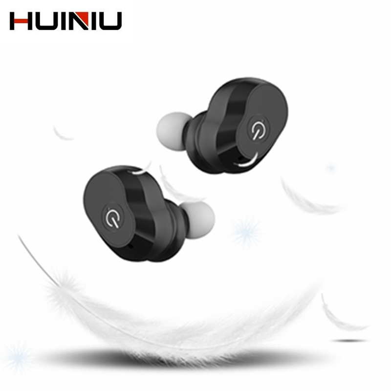 HUINIU Headset Bluetooth Earphone Head phone Mini V4.0 In-ear Earpiece Wireless Bluetooth Handfree Universal for All Phone