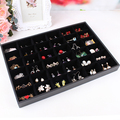 Jewelry set box cosmetics earrings organizer holder hair accessories storage bead receive a case wholesale jewelry display shelf
