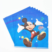 Mickey Minnie Mouse napkins Girls Kids Birthday Party Decoration Set Mickey Party Supplies Baby Birthday Party Pack event disney minnie mouse girls kids birthday party decoration set mickey party supplies baby birthday party pack event party supplies