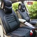 Новый 3D Спортивный Автомобиль Чехол для Сиденья Вообще Подушки, Старший Кожа, Автомобиль Крышки, Стайлинга Автомобилей Для BMW Audi HONDA CRV Ford Nissan Седан Ford