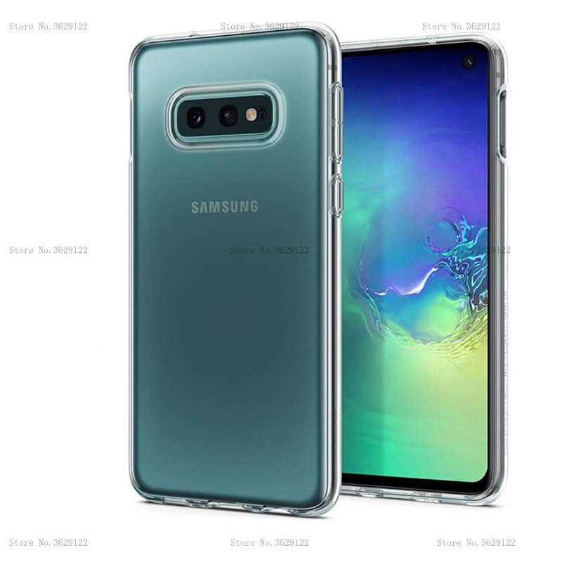 For Samsung Galaxy S10e Case S10 S 10 Cover Ultra-thin Clear Transparent TPU Silicone Case For Samsung Galaxy S10 Plus Cover