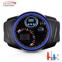 120W 150PSI 12V Digital Car Air Compressor Portable Auto Tire Inflator with LED Light Tyre Gauge Automobiles Air Pump