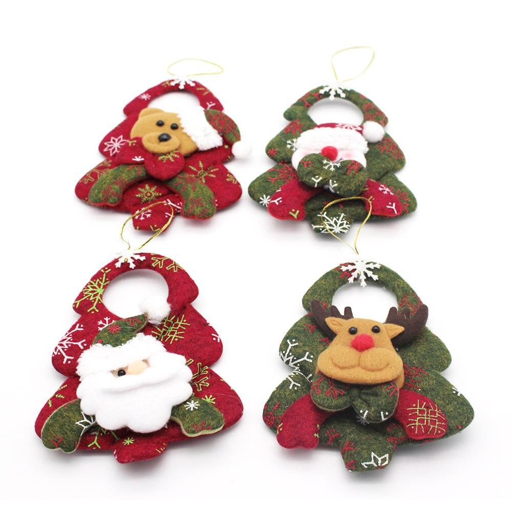 Bear Decorations For Home: New Year Christmas Decorations Snowman Bear Santa Claus