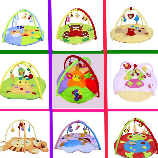 Bebê suave Playmat cobertor jogo Pad Kids Play Tapaete quadro de Fitness brinquedos educacionais do bebê suba Mat rastejando ginásio bebê cobertor