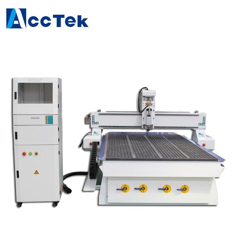 Top qualité bois CNC routeur CNC gravure machines 1325 pour contreplaqué 3D CNC routeur avec logiciel Artcam
