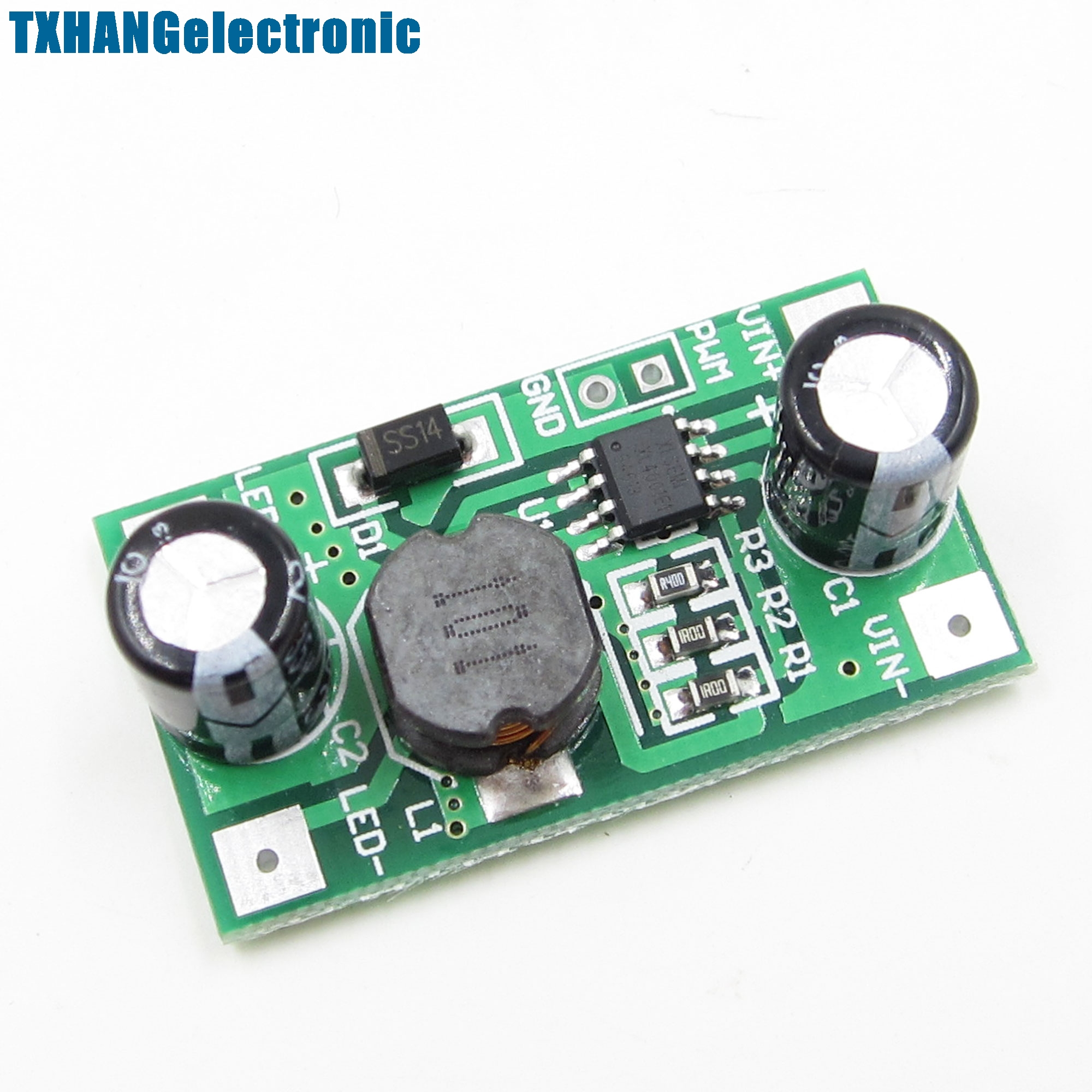 1w Led Driver 350ma Pwm Dimming Input 5 35v Dc Step Down Constant For Rgb Video Displays 5pcs 3w 700ma To