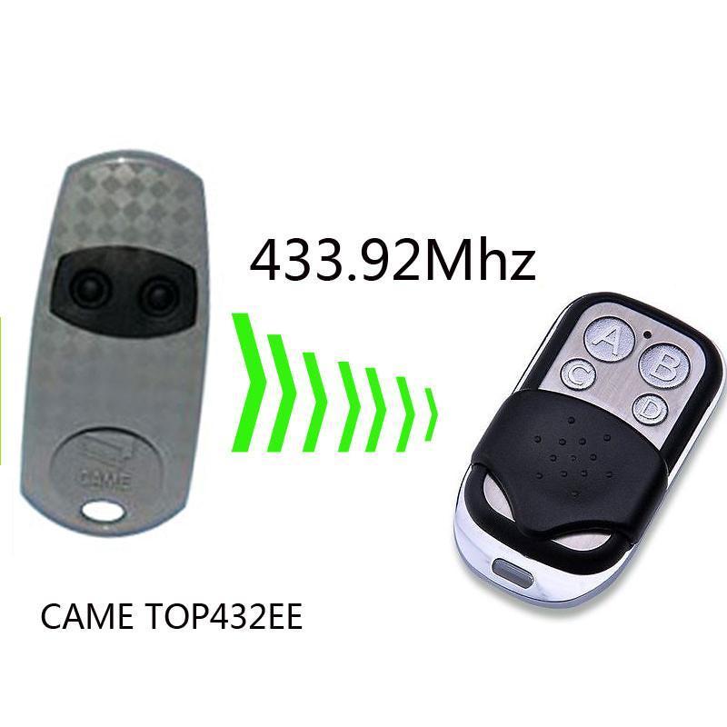 CAME TOP432EE / TOP434EE Garage Door/Gate Remote Control Replacement/Duplicator 433mhz fixe cdoe SJQ088A