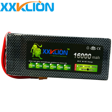 XXKLION Battery 16000mAh 22.2V 6S 30C Lithium Polymer Remote Helicopter RC Multi-Axis UAV Aerial photography цена