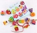 Экспорт качество известных Французских дворян детская одежда большой частицы дерева игрушки играть игрушки Из Бисера Бисером линии