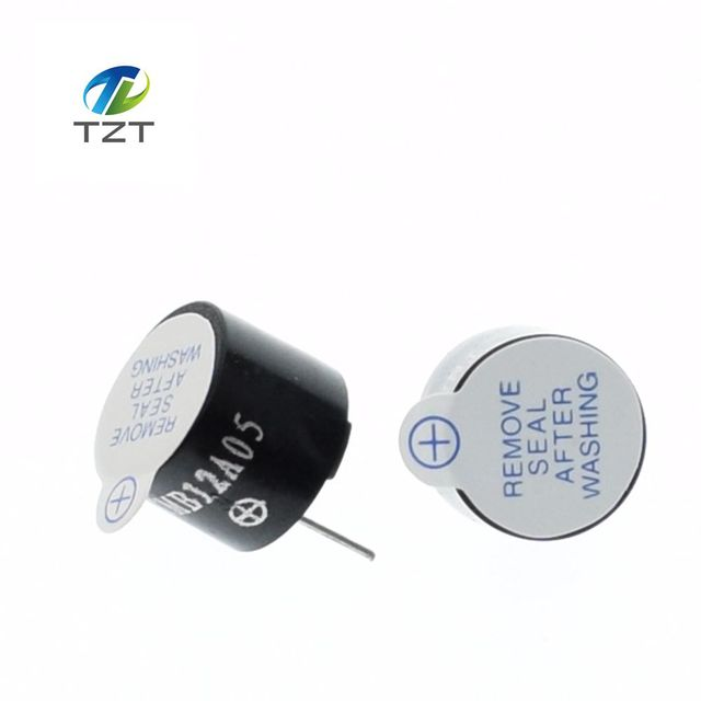 New Arrival 10pcs 5v Active Buzzer Magnetic Long Continous Beep Tone 12*9.5mm