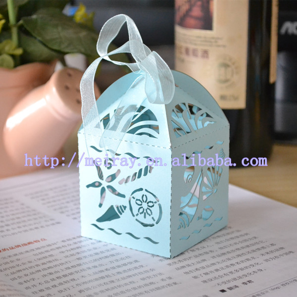5 x  FANCY BUTTERFLY DESIGN RIBBONED GIFT BOX TABLE DEC WEDDING FAVOURS PARTY