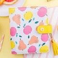 Lovedoki Yiwi Creative Cute Apple Pear Fruit Binder Notebook A7 Planner School Stationery Diary Notebooks Dokibook