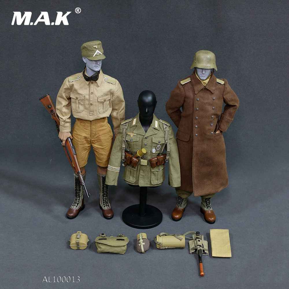 1/6 WWII Afrika Korpsthe Wehrmacht Combat Clothes and Accessories for 12 inches Action Figures Bodies 1 6 scale the game of death bruce lee head sculpt and kungfu clothes for 12 inches figures bodies