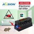 Casa Baterias e Adaptador operado controle de pragas Aosion rato ratos roedor rato assassino zapper assassino elétrica e armadilha
