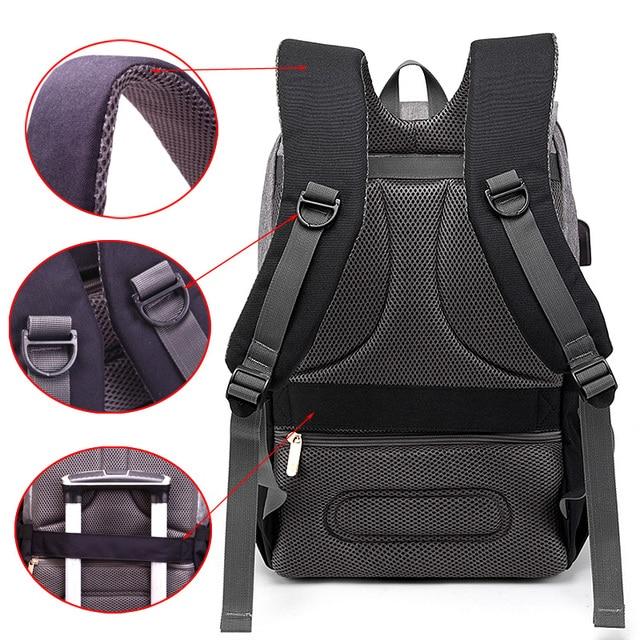 Τσάντα για τα απαραίτητα του μωρού ανατομική oxford με usb