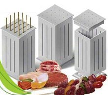 Easy Barbecue Kebab Maker Meat Brochettes Skewer Machine