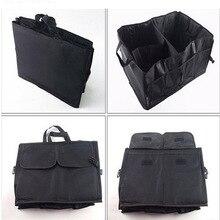 Dongzhen 1X Car Trunk Storage Bag Multifunction Rack Folding Net Box For Audi A1 A3 A4 B5 B6 B8 A5 A7 A6 C5 A8 Q3 Q5 Q7