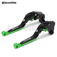 Motorcycle Brake Levers Adjustable Folding Bike Extensible CNC Clutch Levers FOR KAWASAKI Z800 2013 2014 2015