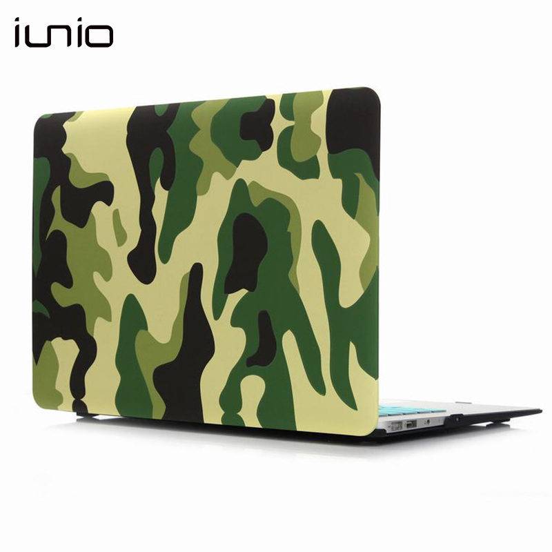 все цены на For Macbook 12 Retina 2018 Military Camouflage Cover Case Hard Protective Case Laptop Case For Mac Book Air 11.6 A1370 A1465