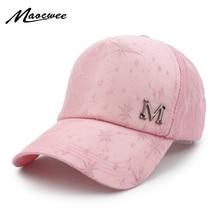 2018 Fashion Lerrer M Bone hat black cap snapback hip hop dad cap designer  hats drake men cap women Visor hat skateboard gorra 1208f19aa655