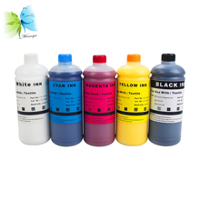 1000ML/ Bottle Digital Textile Ink For Epson Stylus 4000 7600 9600 DX5 DX7 Printer DTG Ink