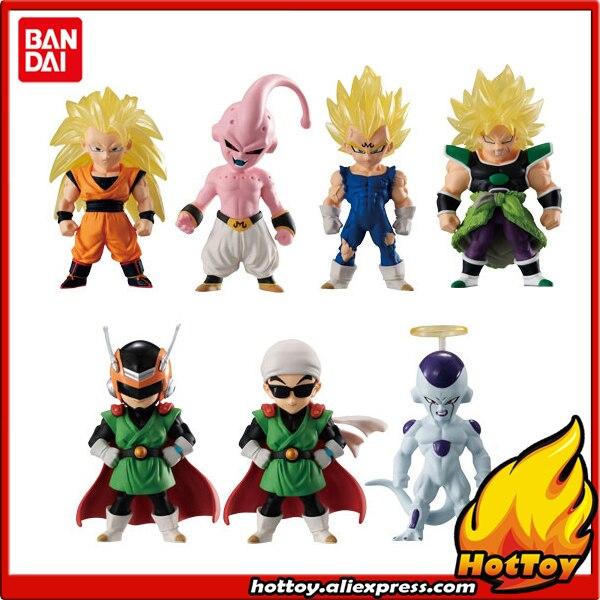 100% Original BANDAI ADVERGE 10 Toy Figure Full Set of 7 Pcs Gokou Gohan Vegeta Buu Broly Freeza Dragon Ball SUPER: Broly