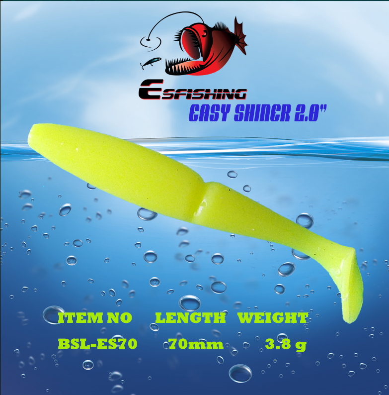 Fishing Lures Soft Lure 6pcs Esfishing Easy shiner 2.8Pesca Leurre Souple Carp Fishing Sea Fishing For Trolling Crankbait 1pcs 12cm 14g big wobbler fishing lures sea trolling minnow artificial bait carp peche crankbait pesca jerkbait ye 37