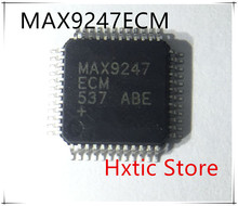 10pcs/lot MAX9247 MAX9247ECM LQFP-48