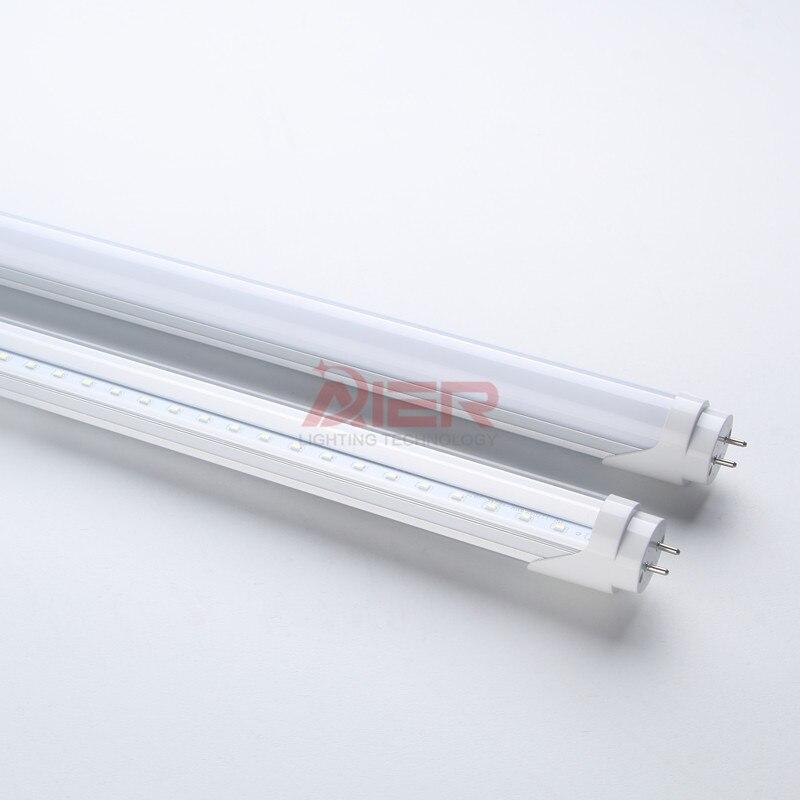 T8 светодиодные трубки 1200 мм 20 Вт 22 Вт 4ft, SMD2835 LED флуоресцентные трубки 110 В 220 В, FedEx Бесплатная доставка светодиодные трубки t8