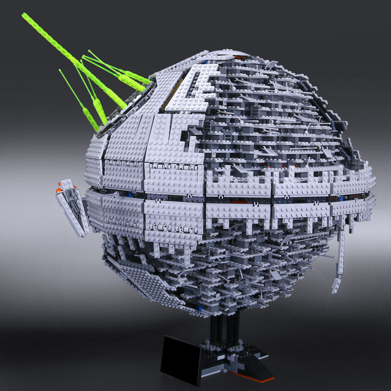 LEPIN 05026 Death Toys Star The second Wars generation 3449pcs Building Block Bricks Compatible educaitonal Child DIY Gift
